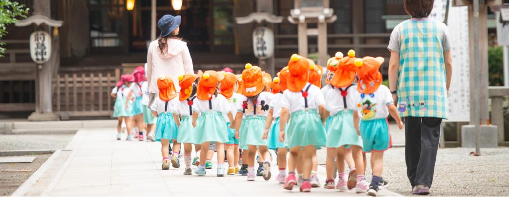幼稚園の思い