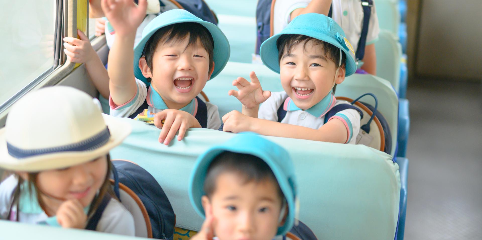 さきとり幼稚園の一日