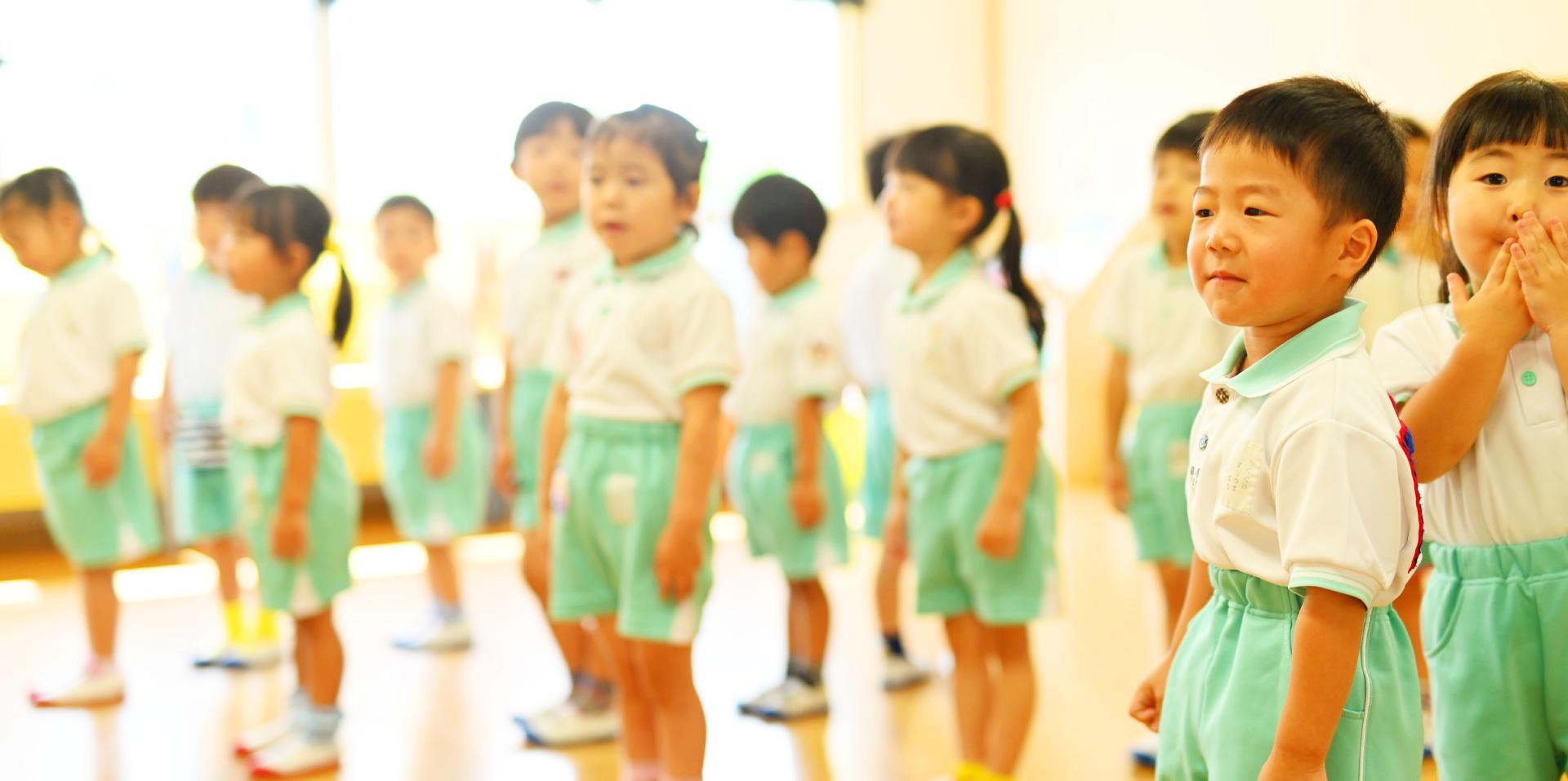 さきとり幼稚園の年間行事