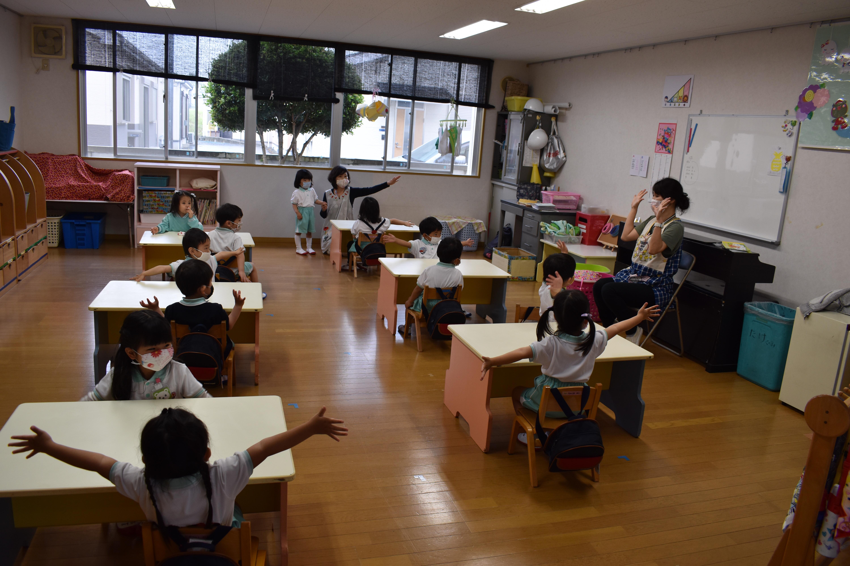 始まりました。幼稚園